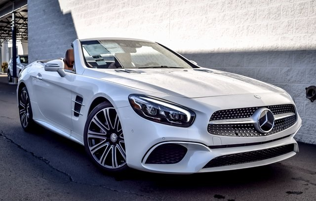 New 2017 Mercedes Benz Sl Class Sl450 Roadster In North